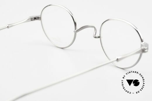 Lunor II 20 Lunor Brille Klein Unisex 90er, diese Qualitätsfassung kann beliebig verglast werden, Passend für Herren und Damen