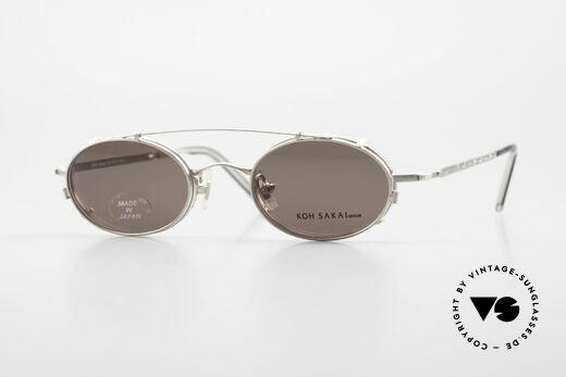 Koh Sakai KS9781 Vintage Brille Metall Unisex Details