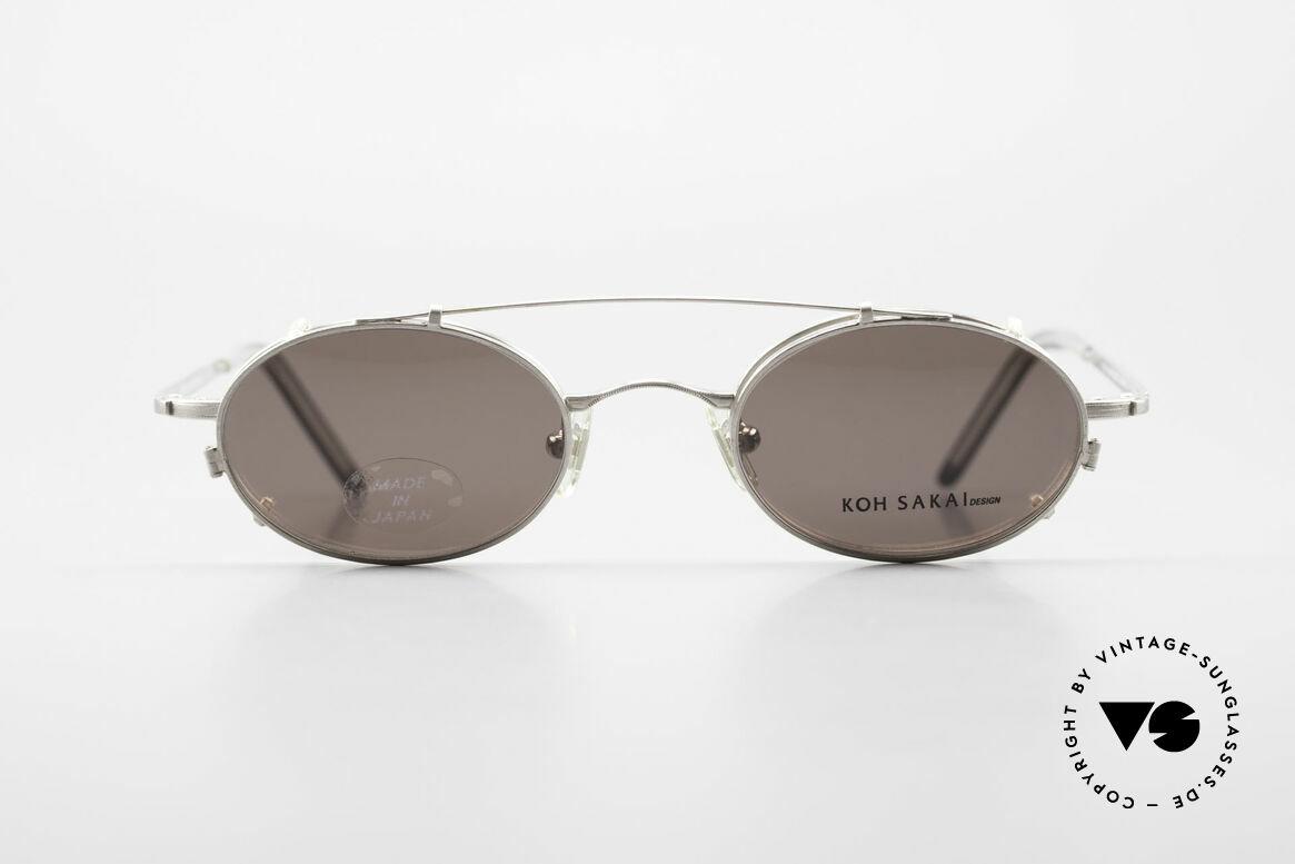 Koh Sakai KS9781 Vintage Brille Metall Unisex, Koh Sakai, BADA und OKIO Brillen waren ein Vertrieb, Passend für Herren und Damen