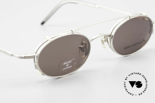 Koh Sakai KS9781 Vintage Brille Metall Unisex, ungetragen (wie alle unsere alten LA + Sabae Brillen), Passend für Herren und Damen