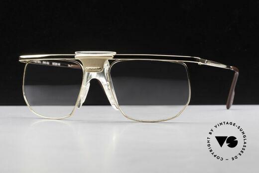 Alpina PSO 905 Vintage Brille Mit Sattelsteg Details