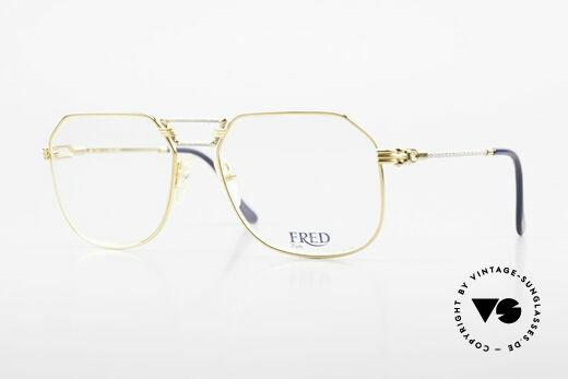 Fred Cap Horn - L Rare Vintage Brille 80er Luxus Details