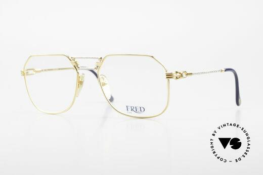 Fred Cap Horn - M Rare 80er Vintage Brille Luxus Details