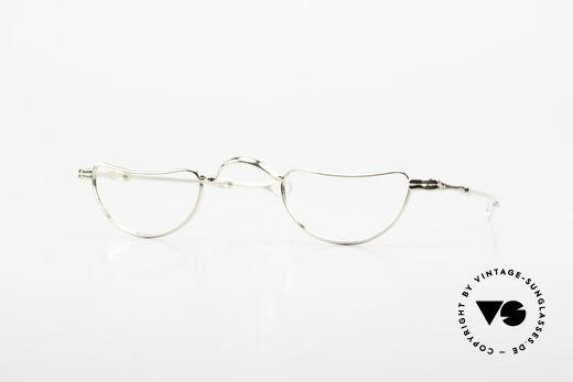 Lunor Goldbrille Echtgold Brille 16kt Lesebrille Details