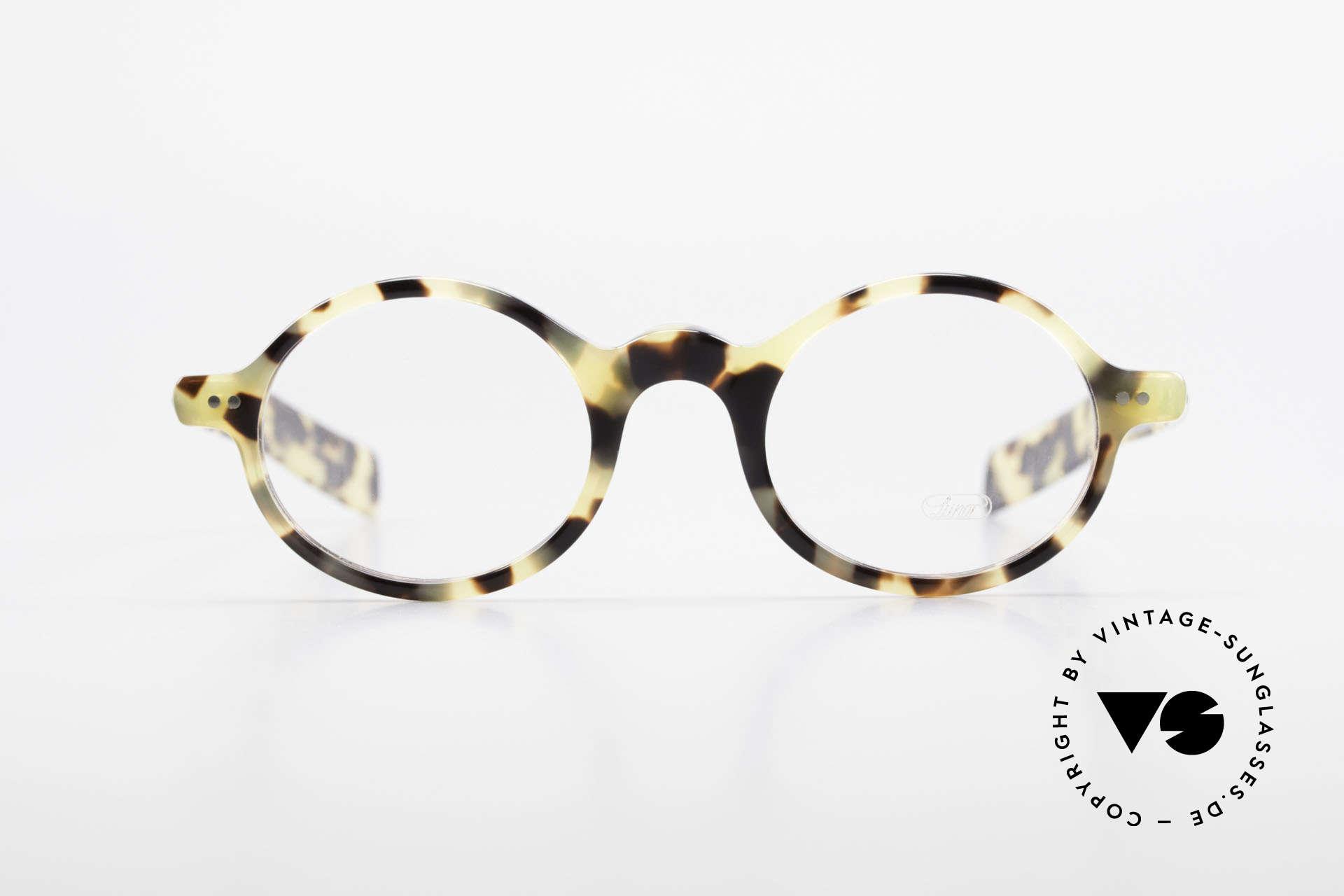 Lunor A52 Ovale Lunor Brille Acetat, Nietscharniere und zehntelmillimetergenau gefräst, Passend für Herren und Damen