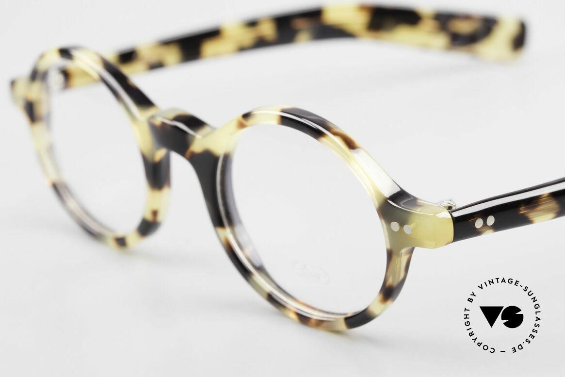 Lunor A52 Ovale Lunor Brille Acetat, 100% made in Germany, handpoliert, ein Klassiker!, Passend für Herren und Damen
