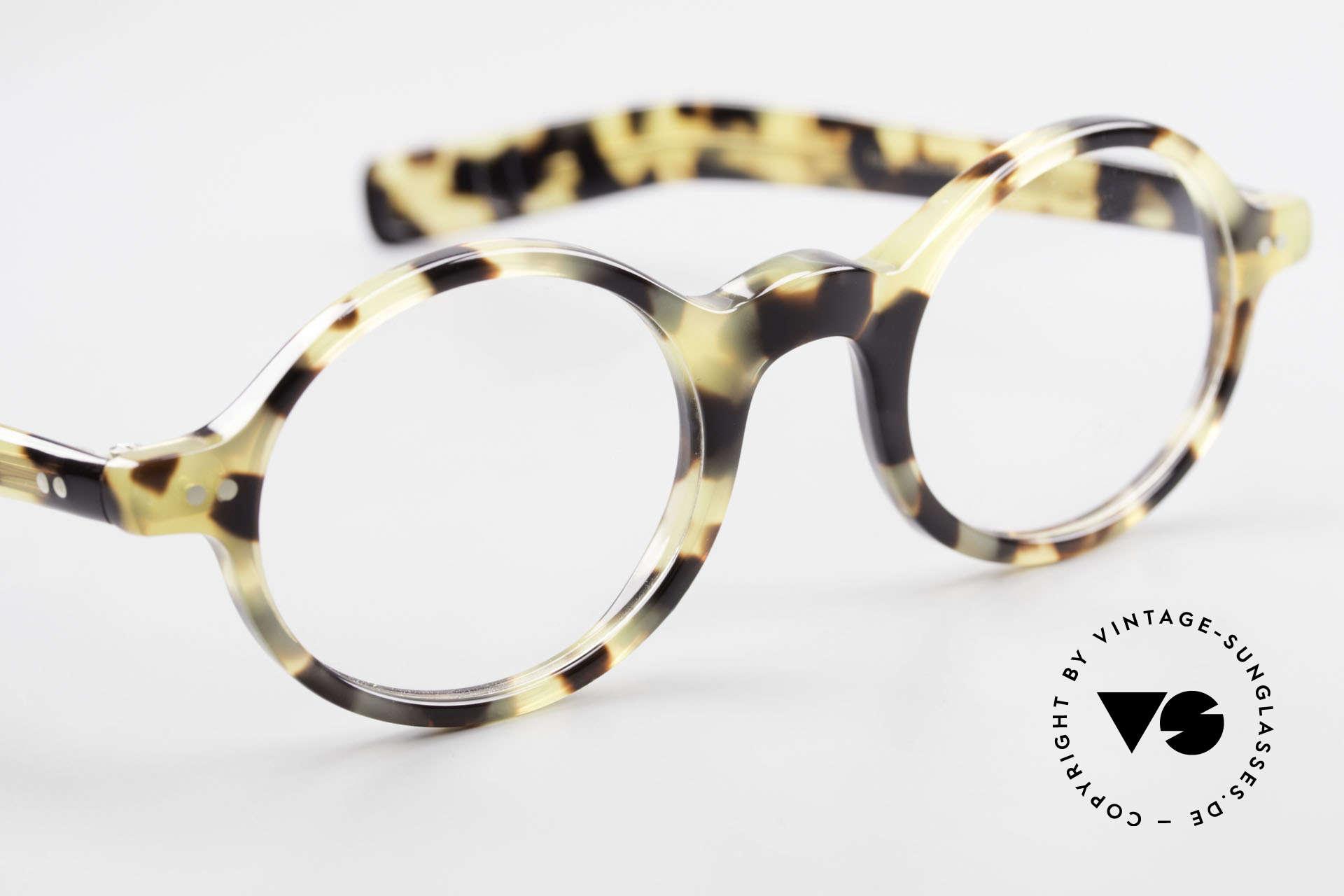 Lunor A52 Ovale Lunor Brille Acetat, Rahmen kann beliebig verglast werden (optisch/Sonne), Passend für Herren und Damen