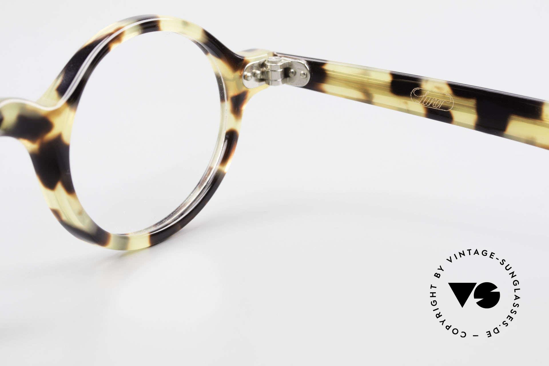 Lunor A52 Ovale Lunor Brille Acetat, Größe: medium, Passend für Herren und Damen
