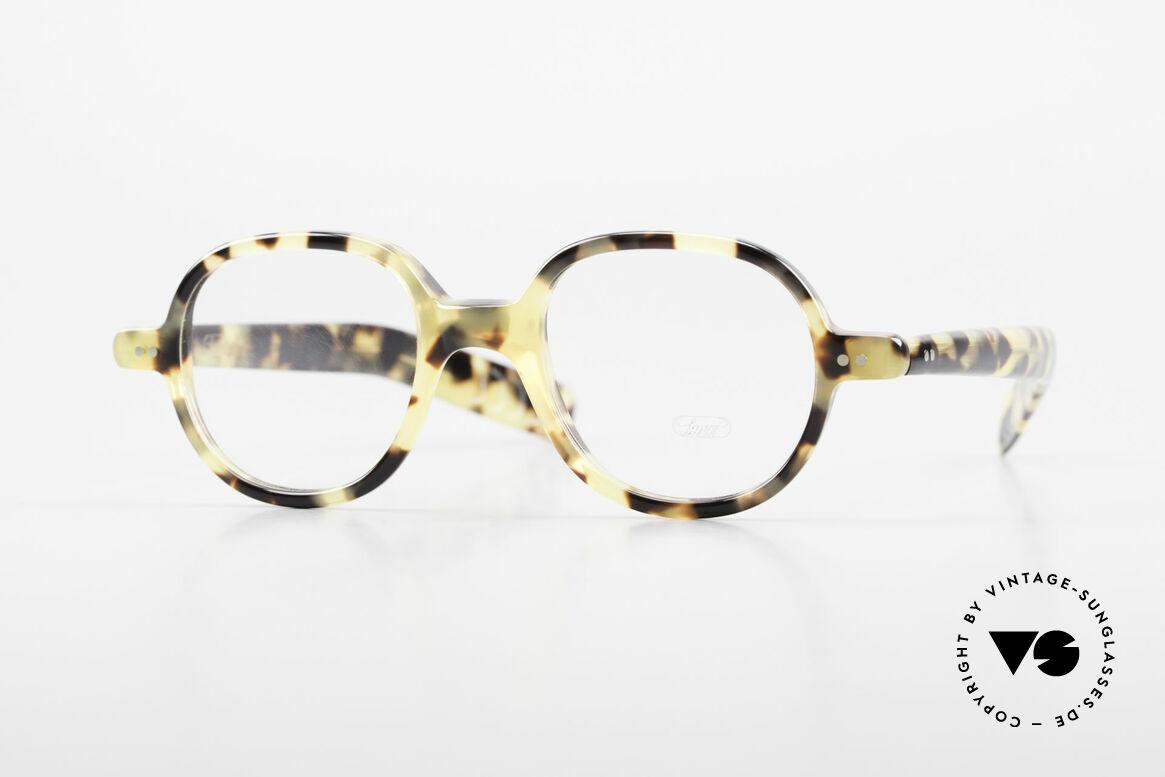 Lunor A50 Runde Lunor Pantobrille Acetat, LUNOR Brille, Modell 50 aus der Acetat-Kollektion, Passend für Herren und Damen