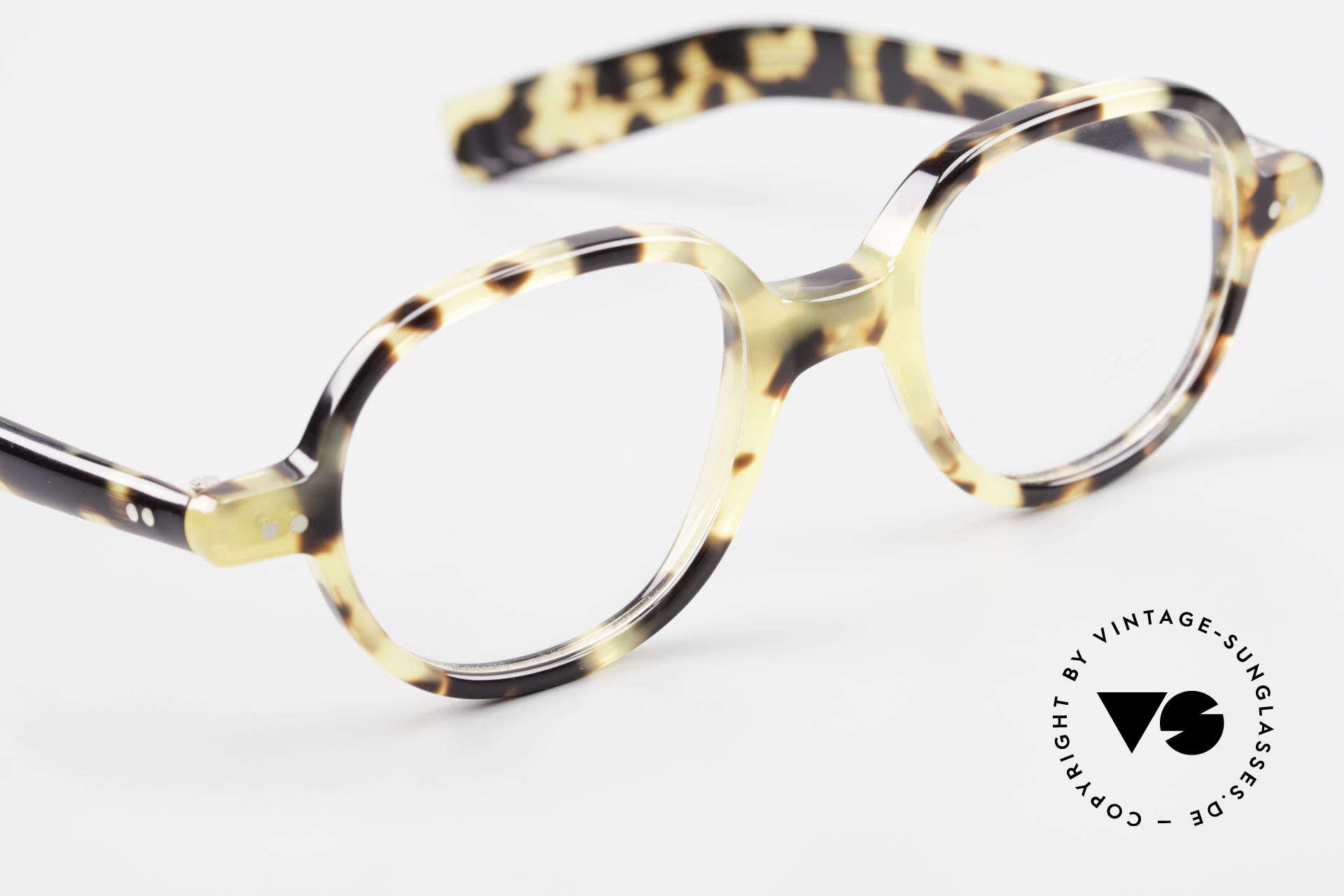 Lunor A50 Runde Lunor Pantobrille Acetat, Rahmen kann beliebig verglast werden (optisch/Sonne), Passend für Herren und Damen