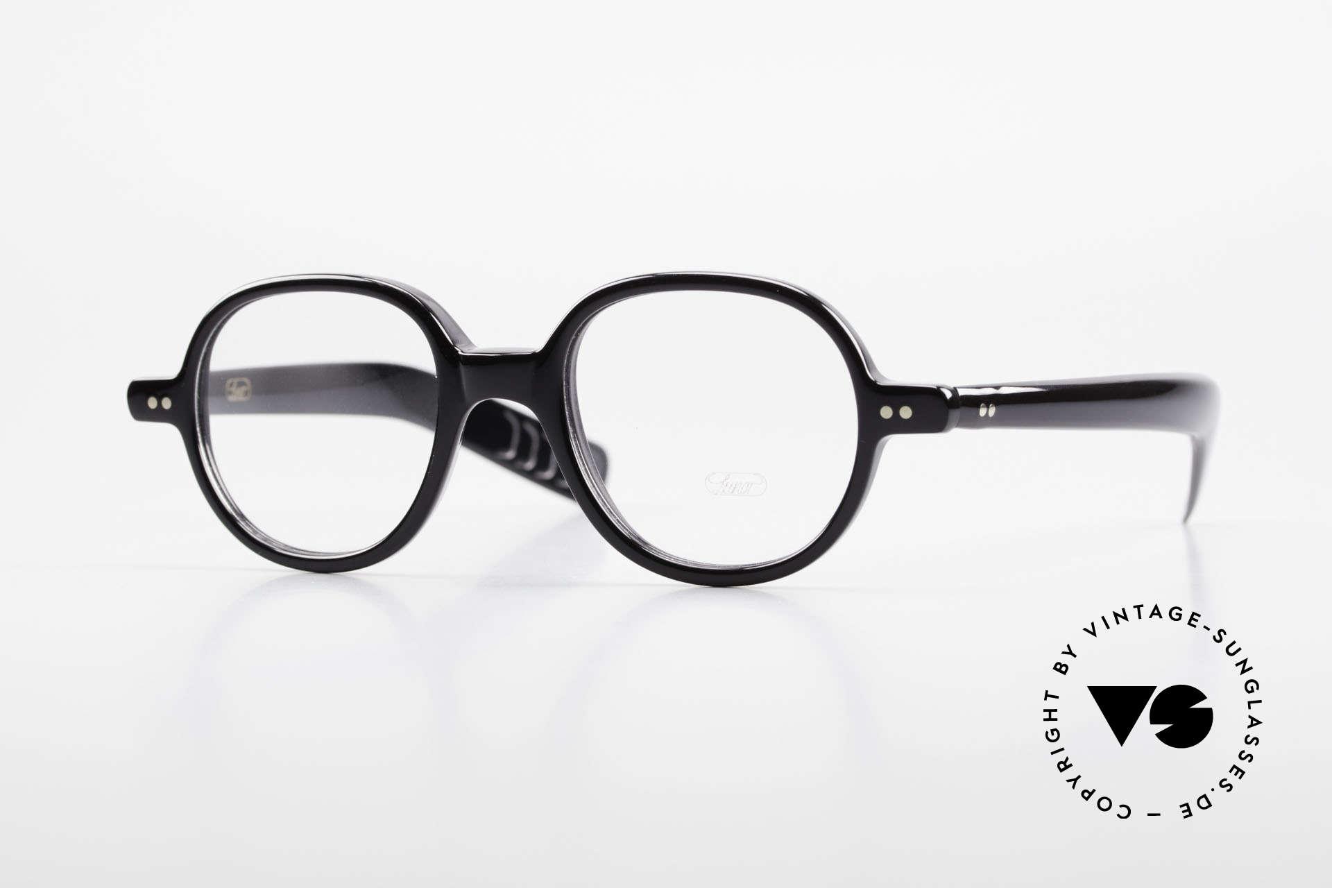 Lunor A50 Runde Lunor Acetatbrille Panto, LUNOR Brille, Modell 50 aus der Acetat-Kollektion, Passend für Herren und Damen