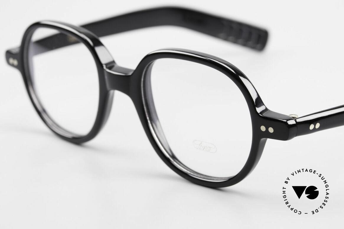 Lunor A50 Runde Lunor Acetatbrille Panto, 100% made in Germany, handpoliert, ein Klassiker!, Passend für Herren und Damen
