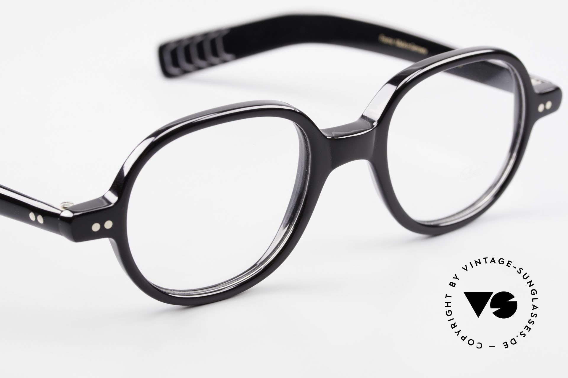 Lunor A50 Runde Lunor Acetatbrille Panto, ungetragen (wie alle unsere schönen LUNOR Brillen), Passend für Herren und Damen