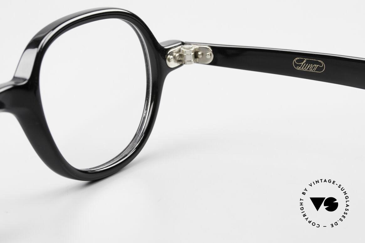Lunor A50 Runde Lunor Acetatbrille Panto, Größe: medium, Passend für Herren und Damen
