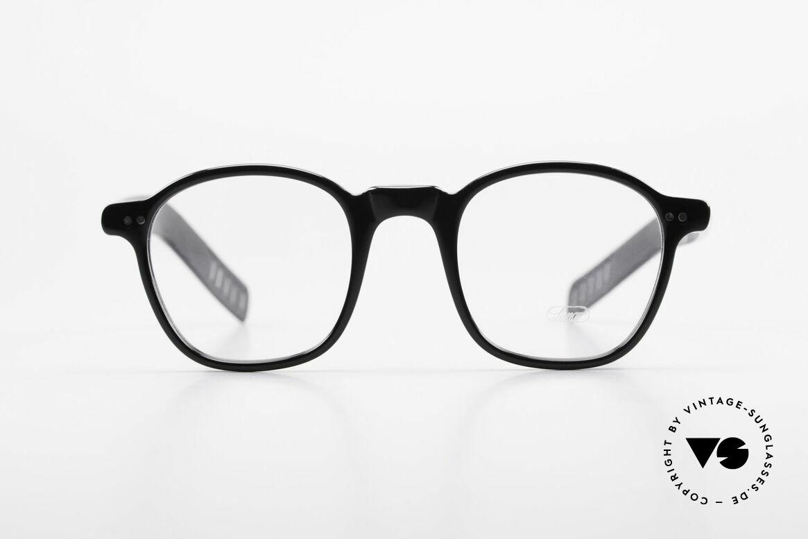 Lunor A51 James Dean Johnny Depp Brille, mehr 'klassisch' in Farbe und Form geht nicht; zeitlos!, Passend für Herren