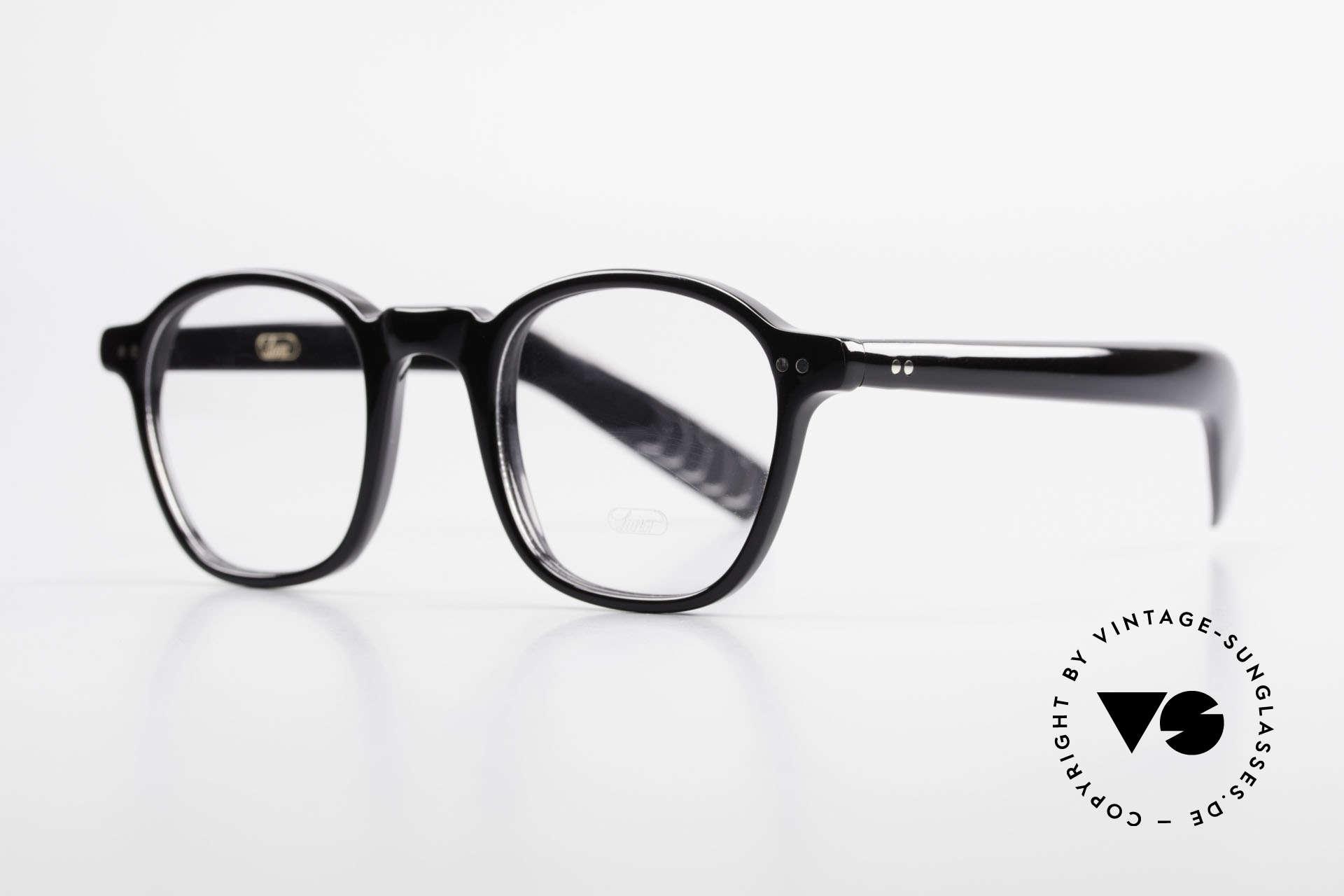 Lunor A51 James Dean Johnny Depp Brille, ähnlich der alten 'Tart Optical Arnel' aus den 50/60ern, Passend für Herren