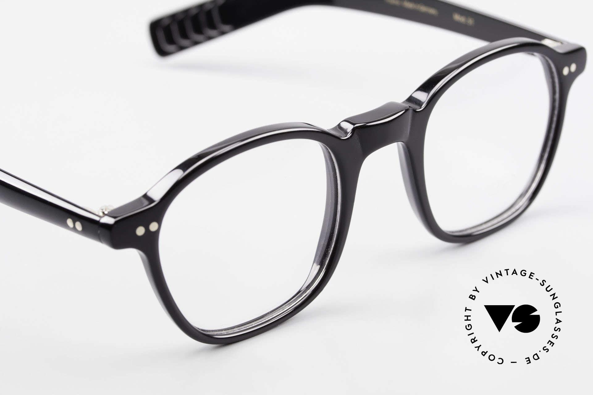 Lunor A51 James Dean Johnny Depp Brille, ungetragen (wie alle unsere legendären LUNOR Brillen), Passend für Herren