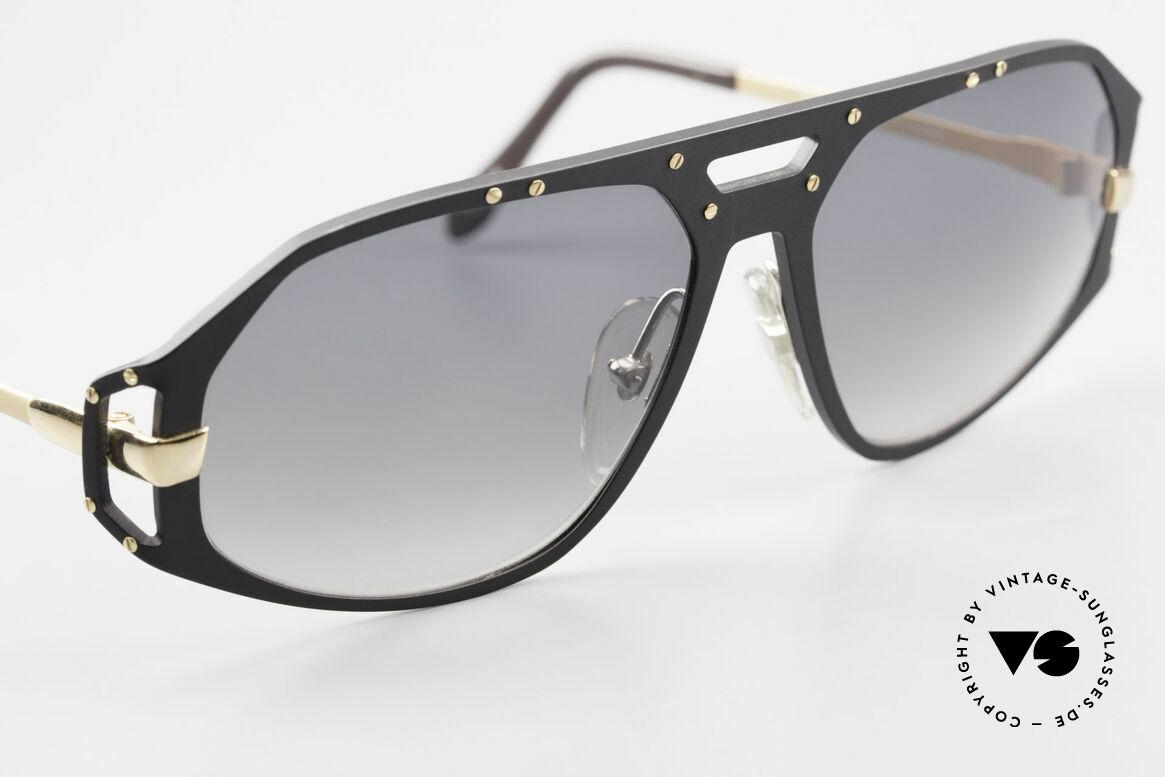 Alpina A50 Ultra Rare 90er Sonnenbrille, ungetragen in TOP-Qualität (24kt vergoldetes Metall), Passend für Herren