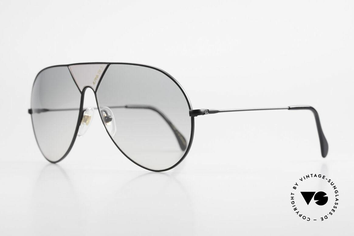 Alpina TR3 80er XL Sonnenbrille Limited, absolute Rarität in XL Größe 64-14, Sammlerstück, Passend für Herren