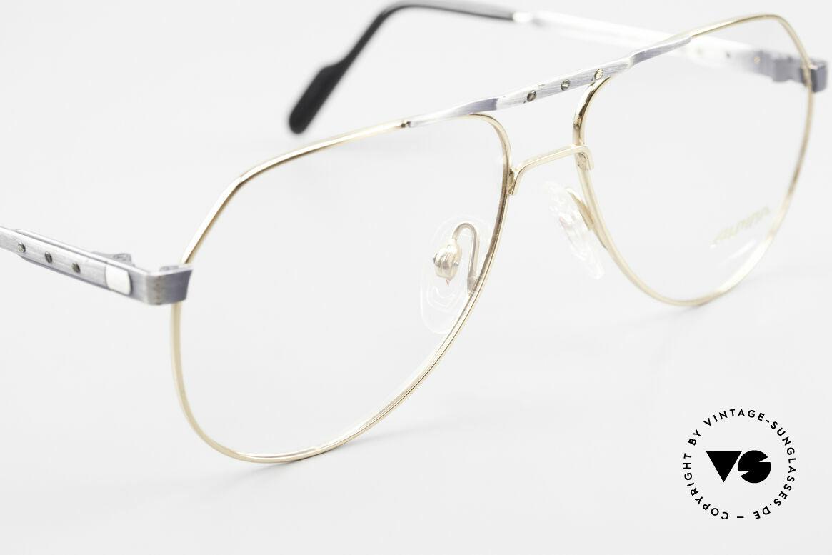 Alpina M1F770 Vintage Brille Pilotenstil 90er, ungetragen (wie alle unsere VINTAGE Fassungen), Passend für Herren