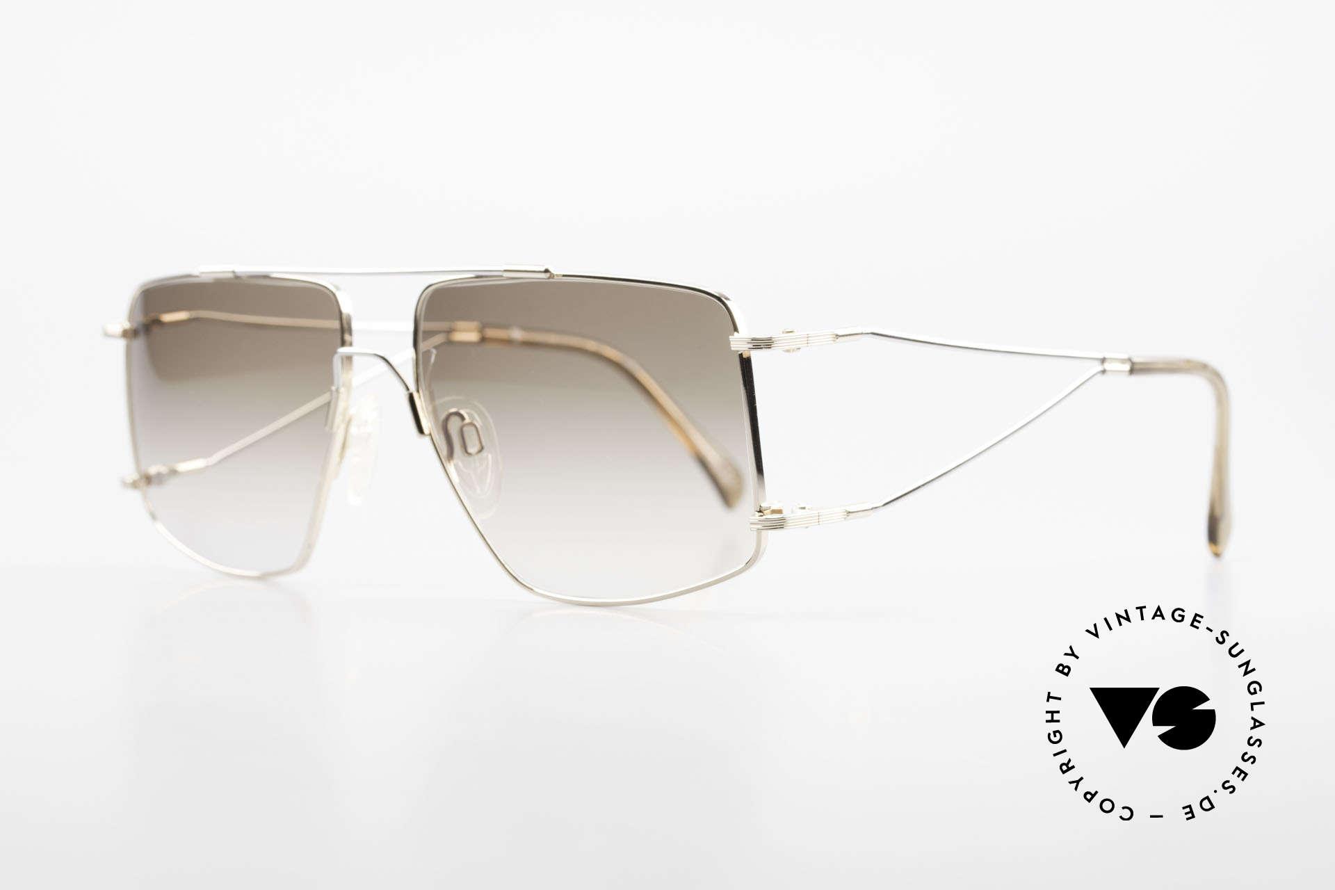 Neostyle Jet 40 Titanflex Vintage Sonnenbrille, TITAN-FLEX ist unglaublich robust und sehr leicht, Passend für Herren