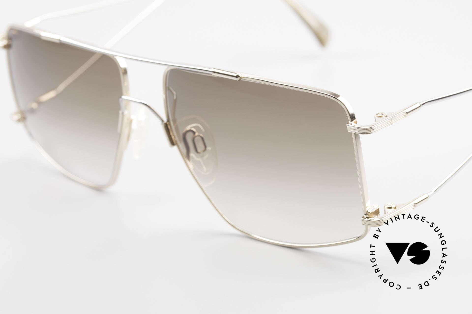 Neostyle Jet 40 Titanflex Vintage Sonnenbrille, springt nach Verformung in ursprüngl. Form zurück, Passend für Herren