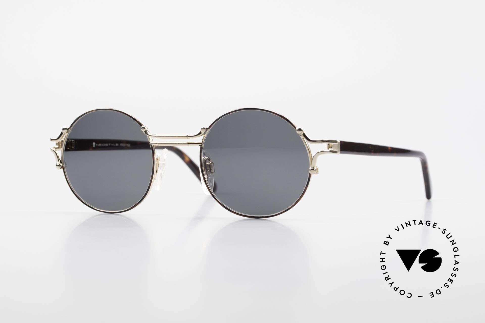 Neostyle Academic 8 Runde Vintage Sonnenbrille, Academic 8 Prestige Sonnenbrille von Neostyle, Passend für Herren und Damen