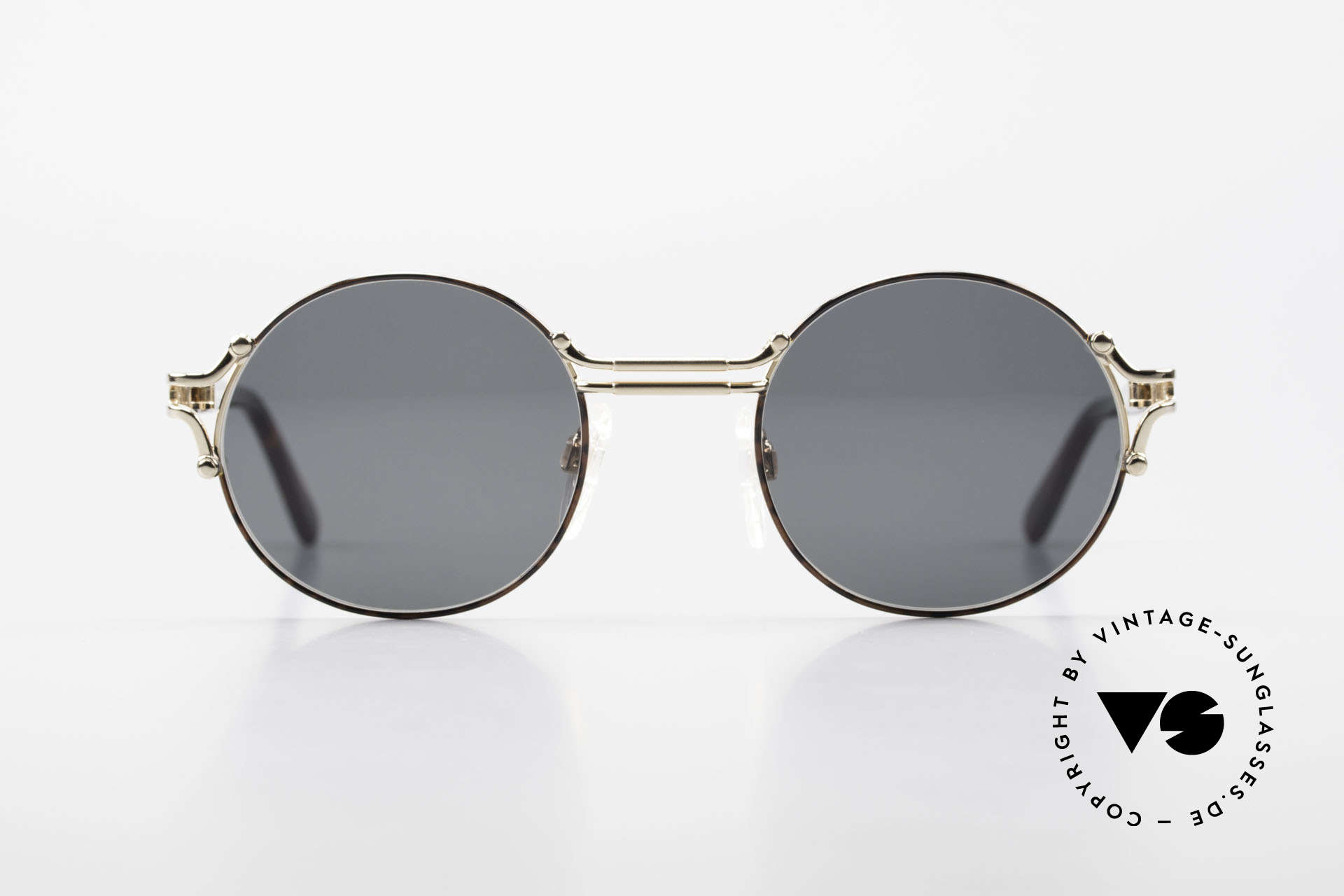 Neostyle Academic 8 Runde Vintage Sonnenbrille, runde, zeitlose vintage Brille aus den 1980ern, Passend für Herren und Damen