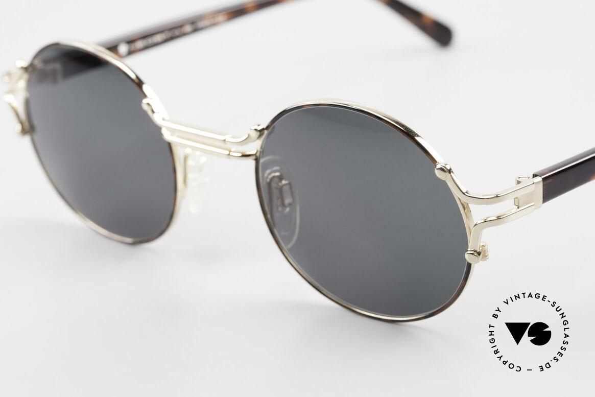 Neostyle Academic 8 Runde Vintage Sonnenbrille, schlichte, elegante Form & Farbe der Fassung, Passend für Herren und Damen