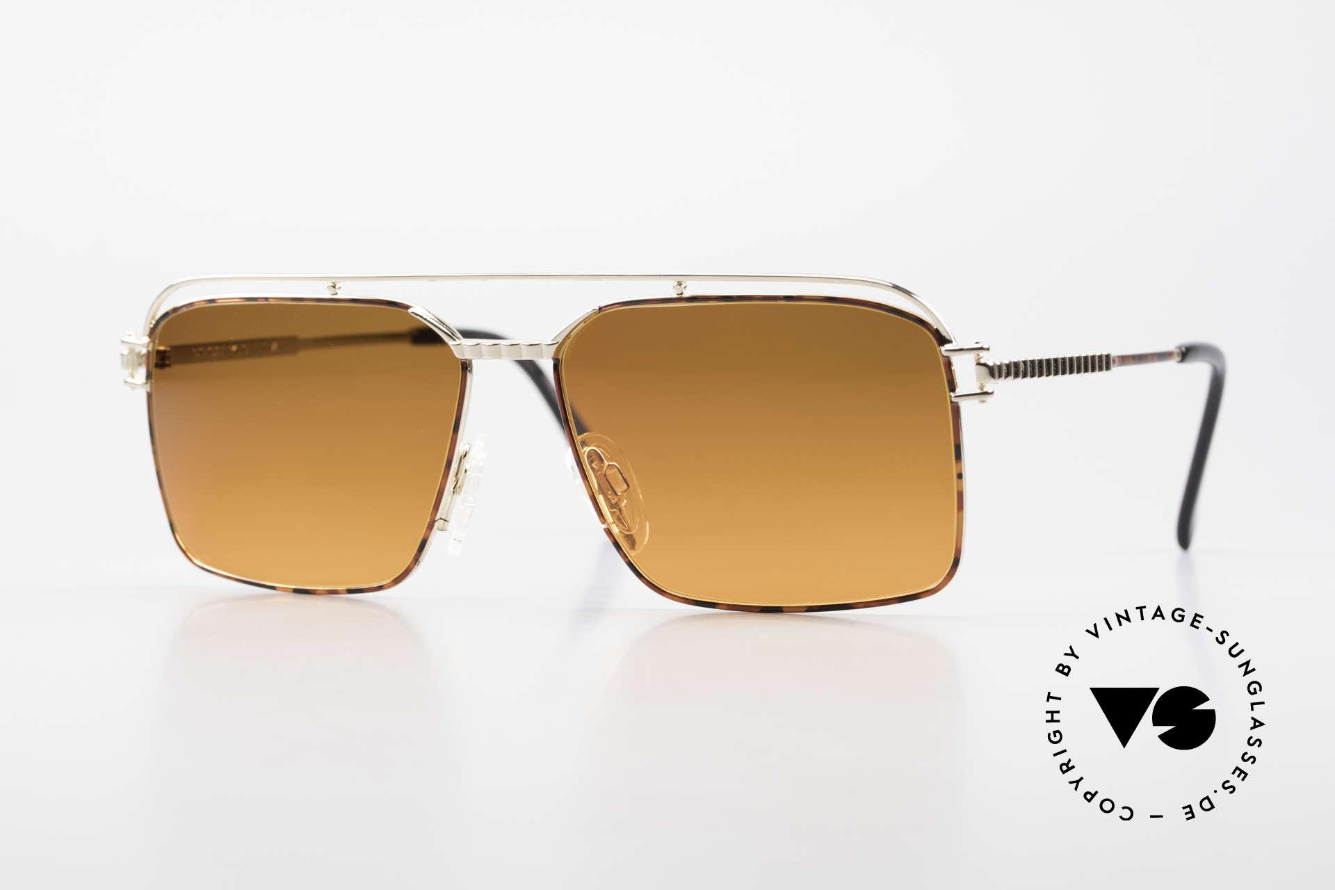 Neostyle Dynasty 424 - L 80er Herrensonnenbrille Titan, Neostyle Dynasty 424, Gr. 58/16 Sonnenbrille, Passend für Herren
