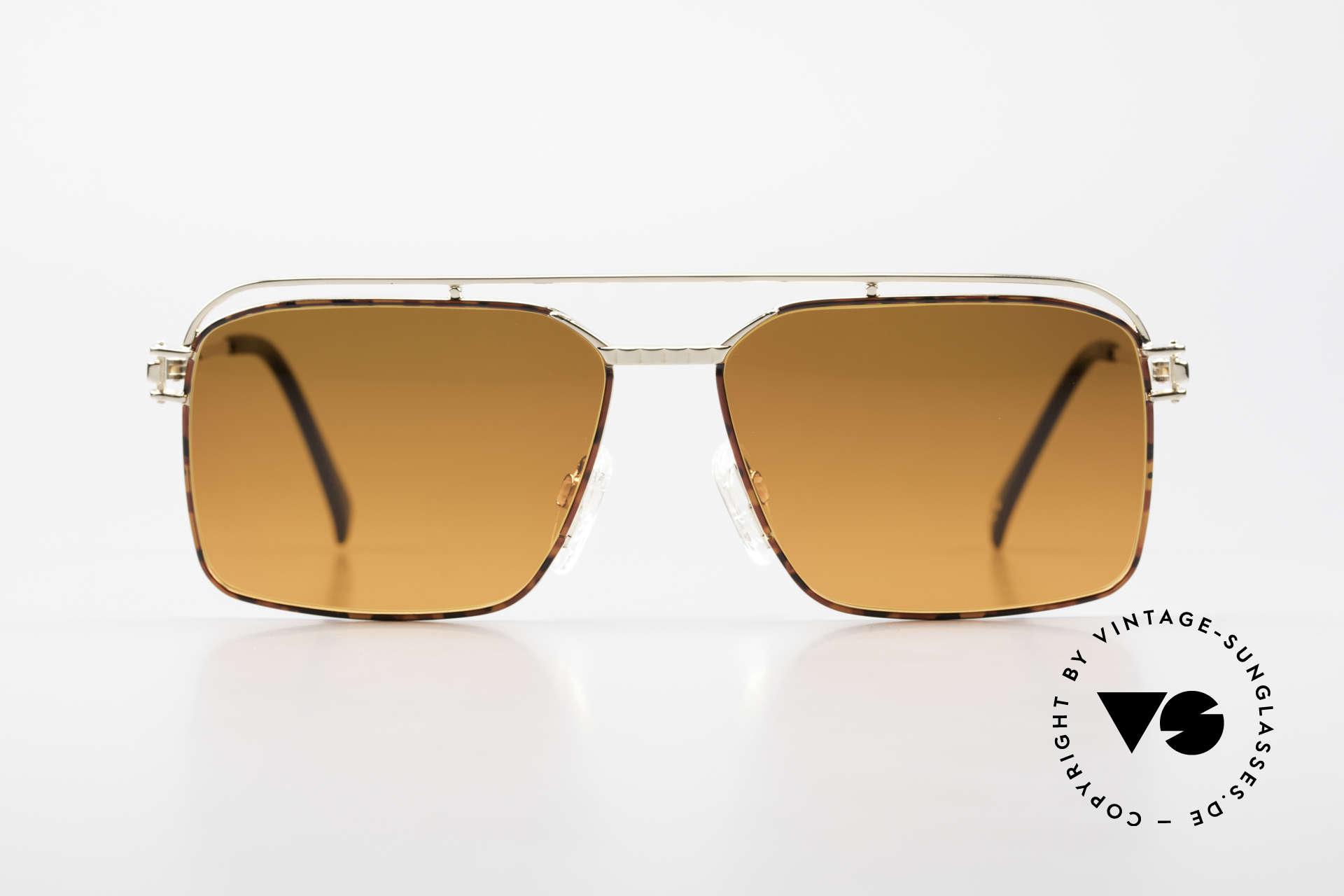 Neostyle Dynasty 424 - L 80er Herrensonnenbrille Titan, herausragende Spitzenqualität (Titan-Fassung), Passend für Herren