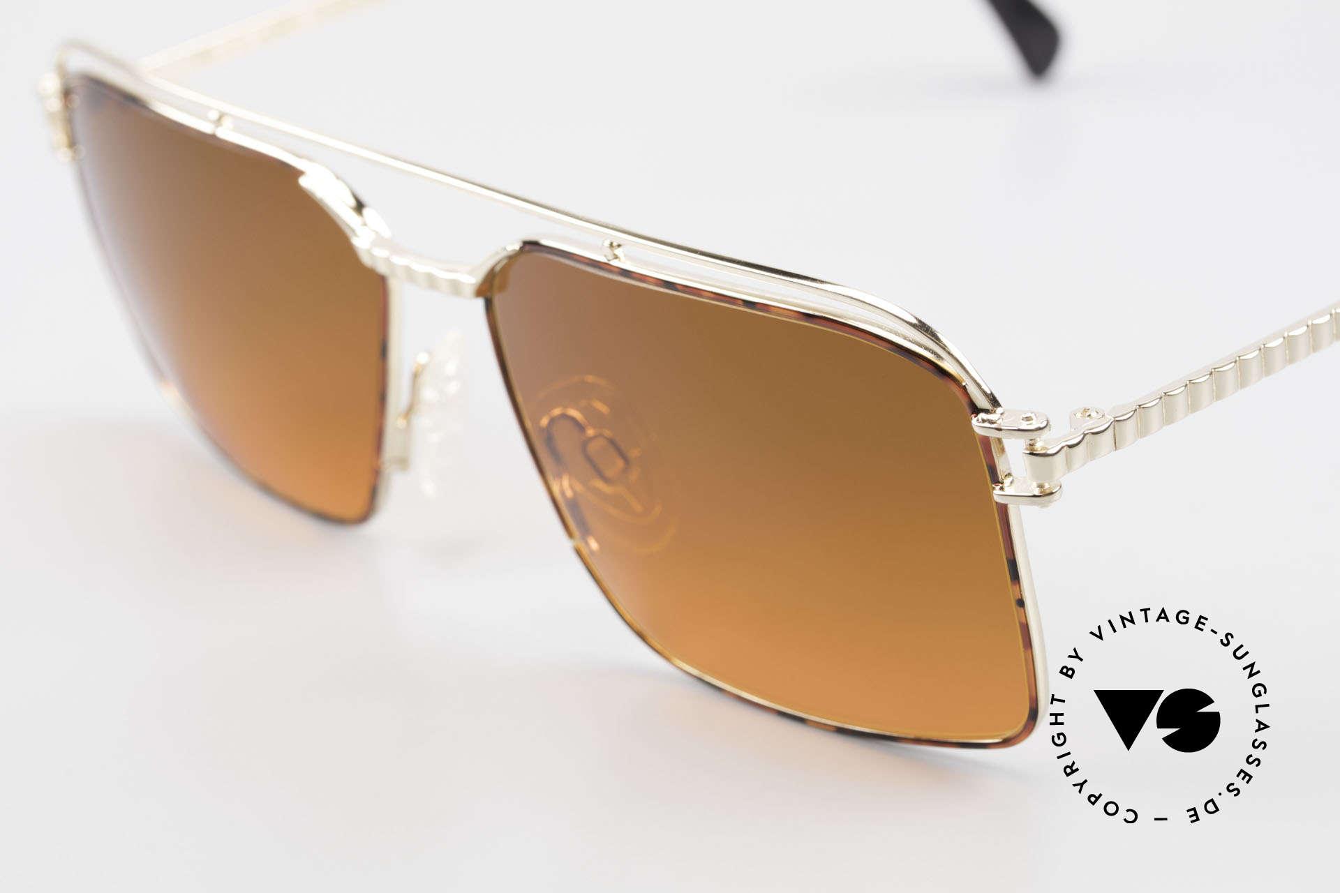 Neostyle Dynasty 424 - L 80er Herrensonnenbrille Titan, ungetragen (wie alle unsere  vintage Raritäten), Passend für Herren