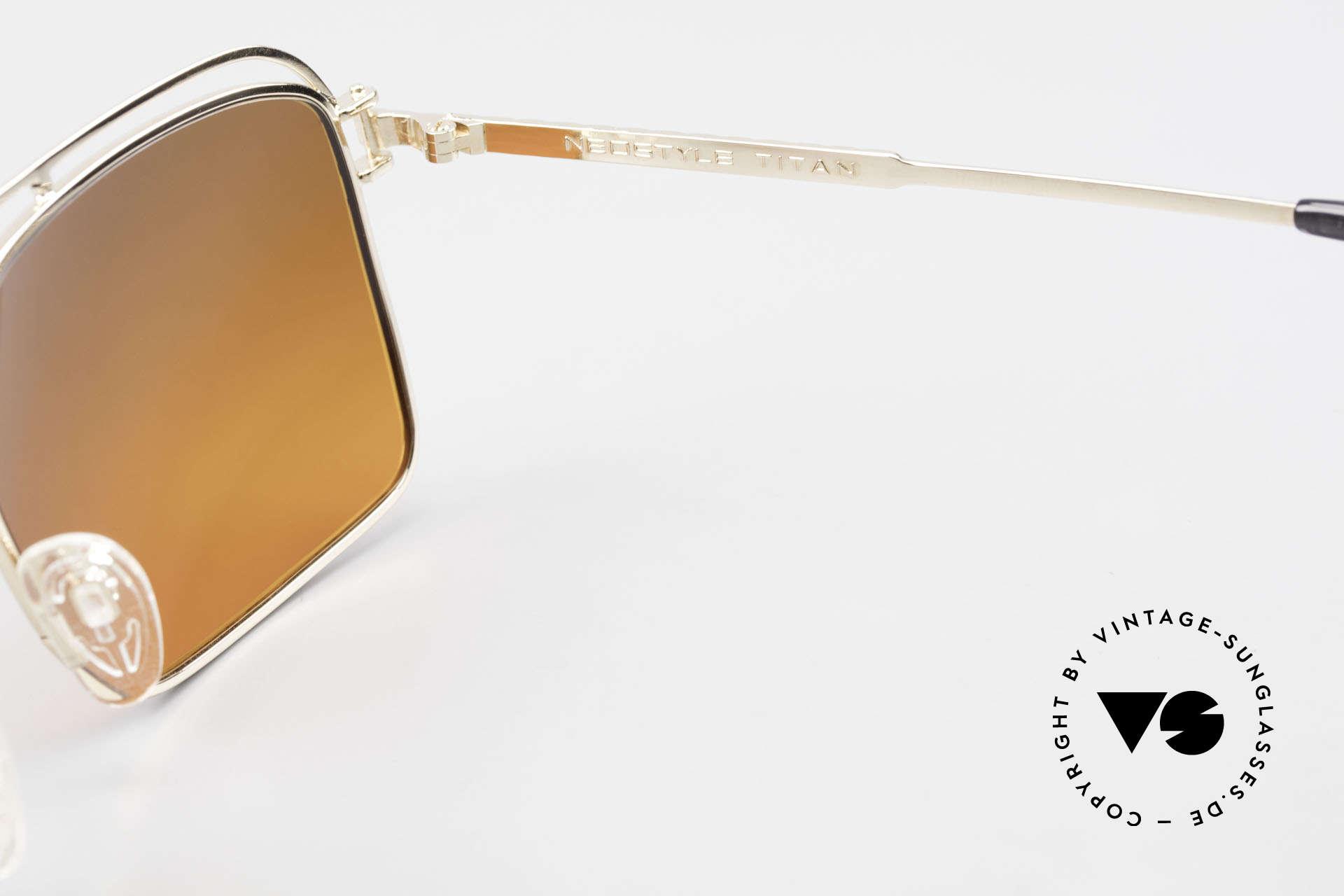 Neostyle Dynasty 424 - L 80er Herrensonnenbrille Titan, Fassung ist beliebig verglasbar (optisch / Sonne), Passend für Herren