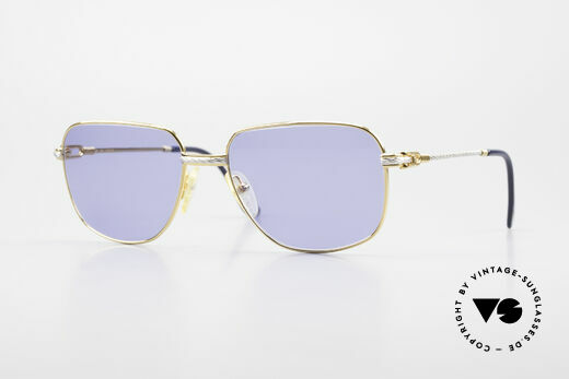 Fred Zephir Luxus Segler Sonnenbrille 80er Details