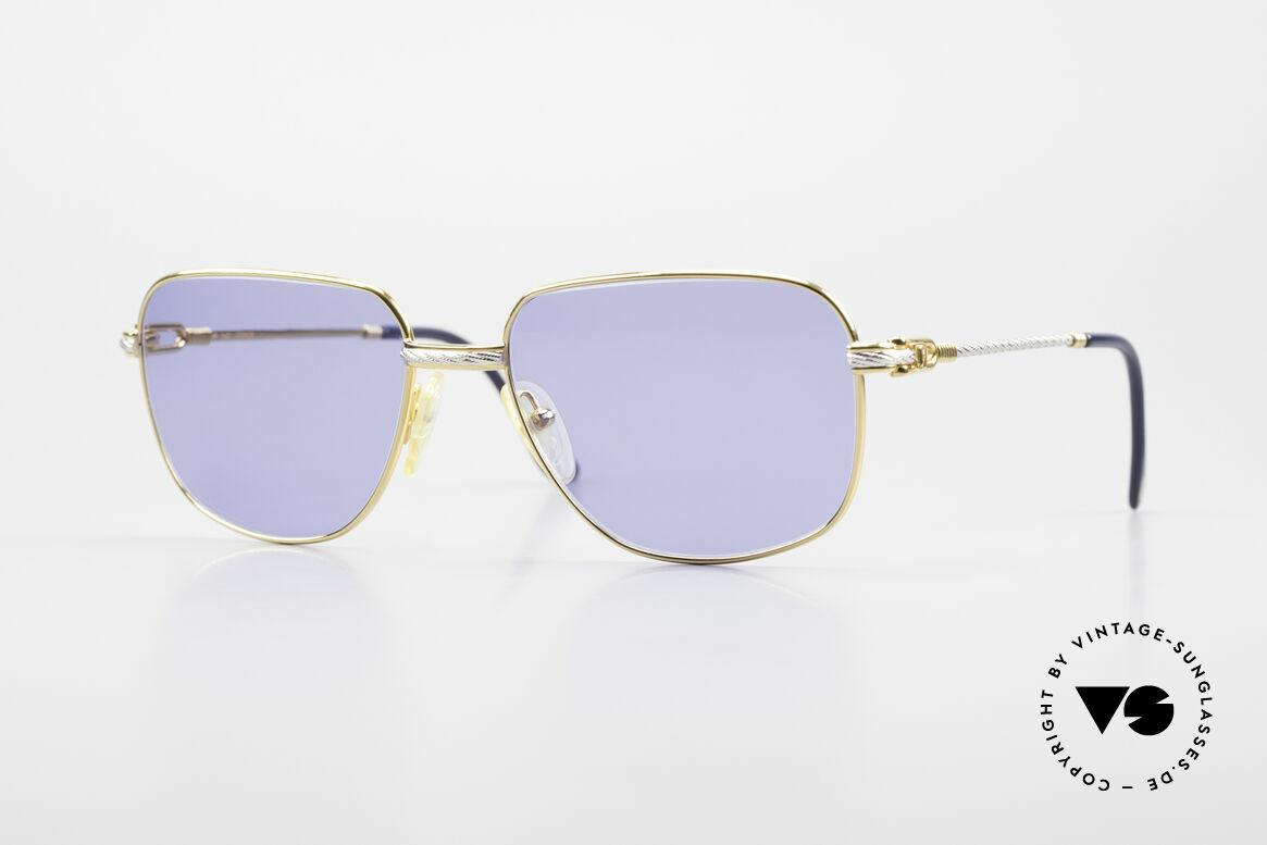 Fred Zephir Luxus Segler Sonnenbrille 80er, 80er Fred Zephir Segler-Sonnenbrille in LARGE Größe, Passend für Herren
