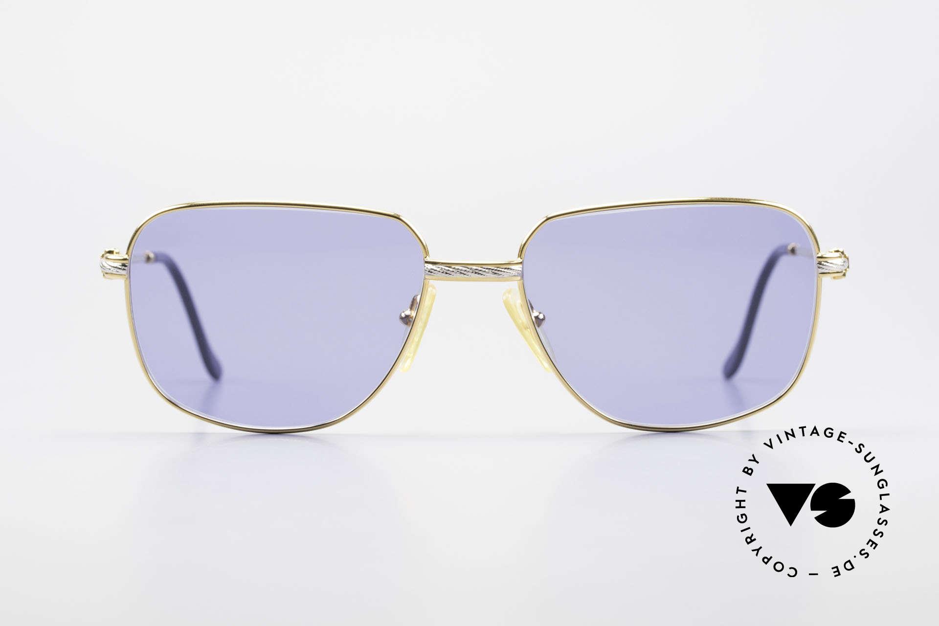 Fred Zephir Luxus Segler Sonnenbrille 80er, marines Design (charakteristisch Fred) in Top-Qualität, Passend für Herren