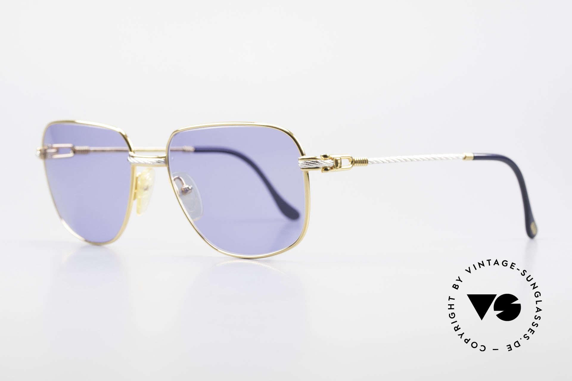 Fred Zephir Luxus Segler Sonnenbrille 80er, der Name sagt alles: 'ZEPHIR' = griechischer Windgott, Passend für Herren
