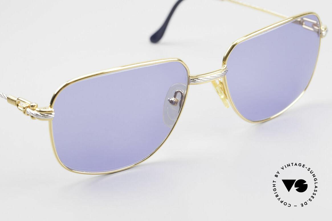Fred Zephir Luxus Segler Sonnenbrille 80er, ungetragenes Exemplar + orig. Fred Etui & Verpackung, Passend für Herren