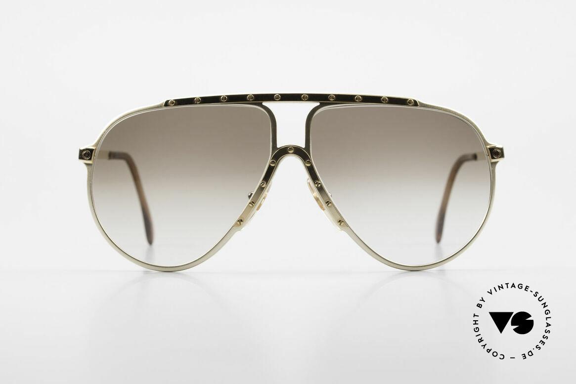 Alpina M1 Limited Edition 80er Jahre, absolute Kultbrille und begehrte Sammlerbrille, Passend für Herren und Damen