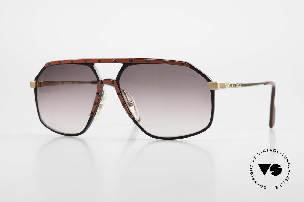 Alpina M6 Rare Vintage 80er Sonnenbrille, alte Alpina M6 vintage Sonnenbrille in Größe 60/14, Passend für Herren und Damen
