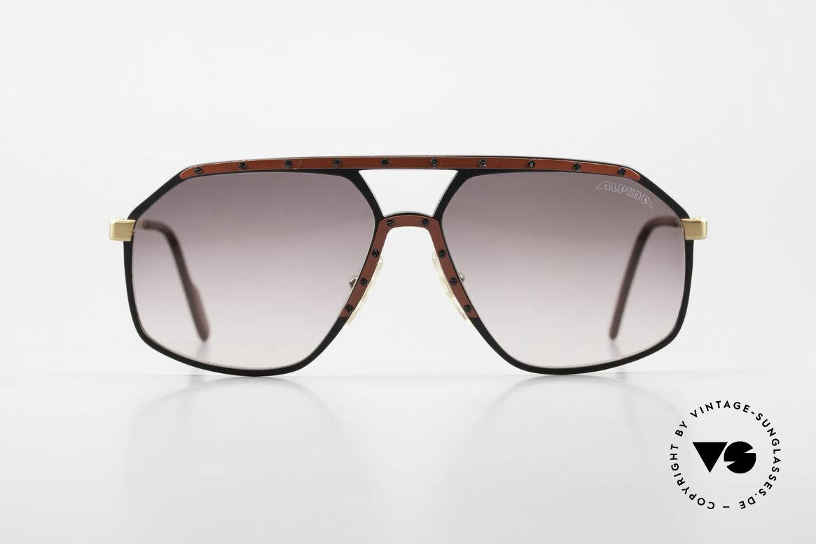 Alpina M6 Rare Vintage 80er Sonnenbrille, West Germany Brille; von 1987 bis 1991 produziert, Passend für Herren und Damen