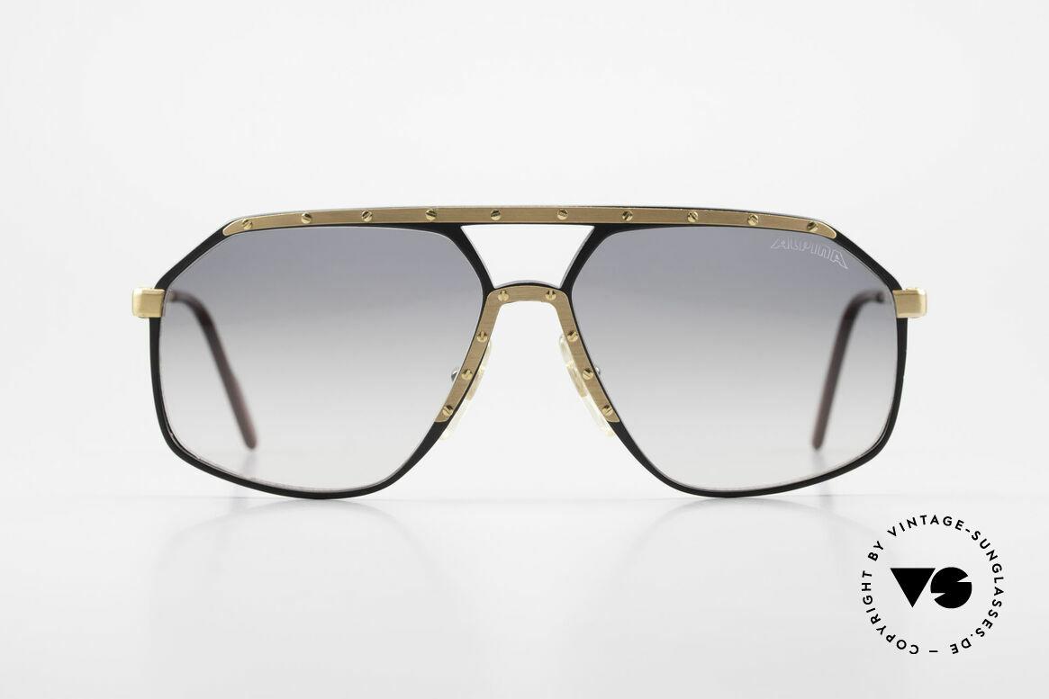 Alpina M6 True Vintage Sonnenbrille 80er, West Germany Brille; von 1987 bis 1991 produziert, Passend für Herren und Damen