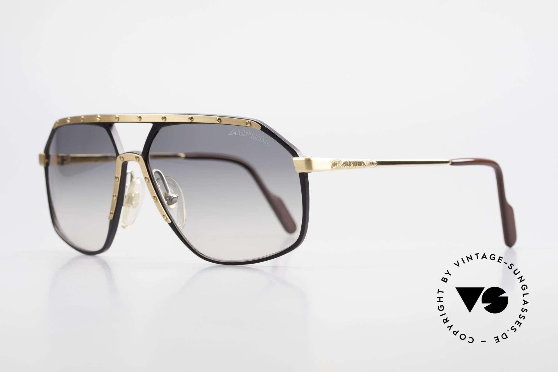 Alpina M6 True Vintage Sonnenbrille 80er, HANDMADE gefertigt in verschiedenen Variationen, Passend für Herren und Damen