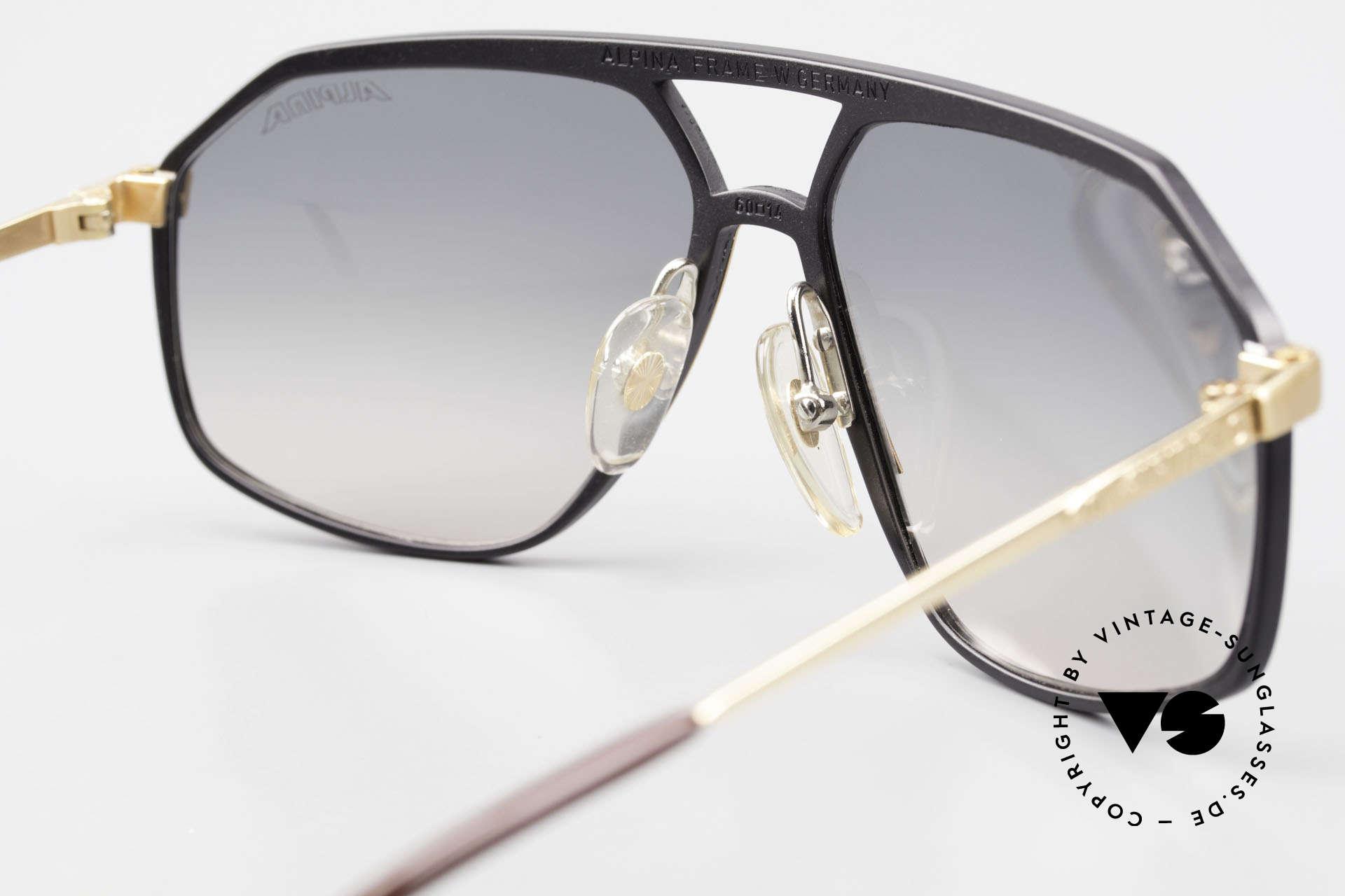Alpina M6 True Vintage Sonnenbrille 80er, ein absolutes Sammlerstück, da echte vintage Rarität, Passend für Herren und Damen
