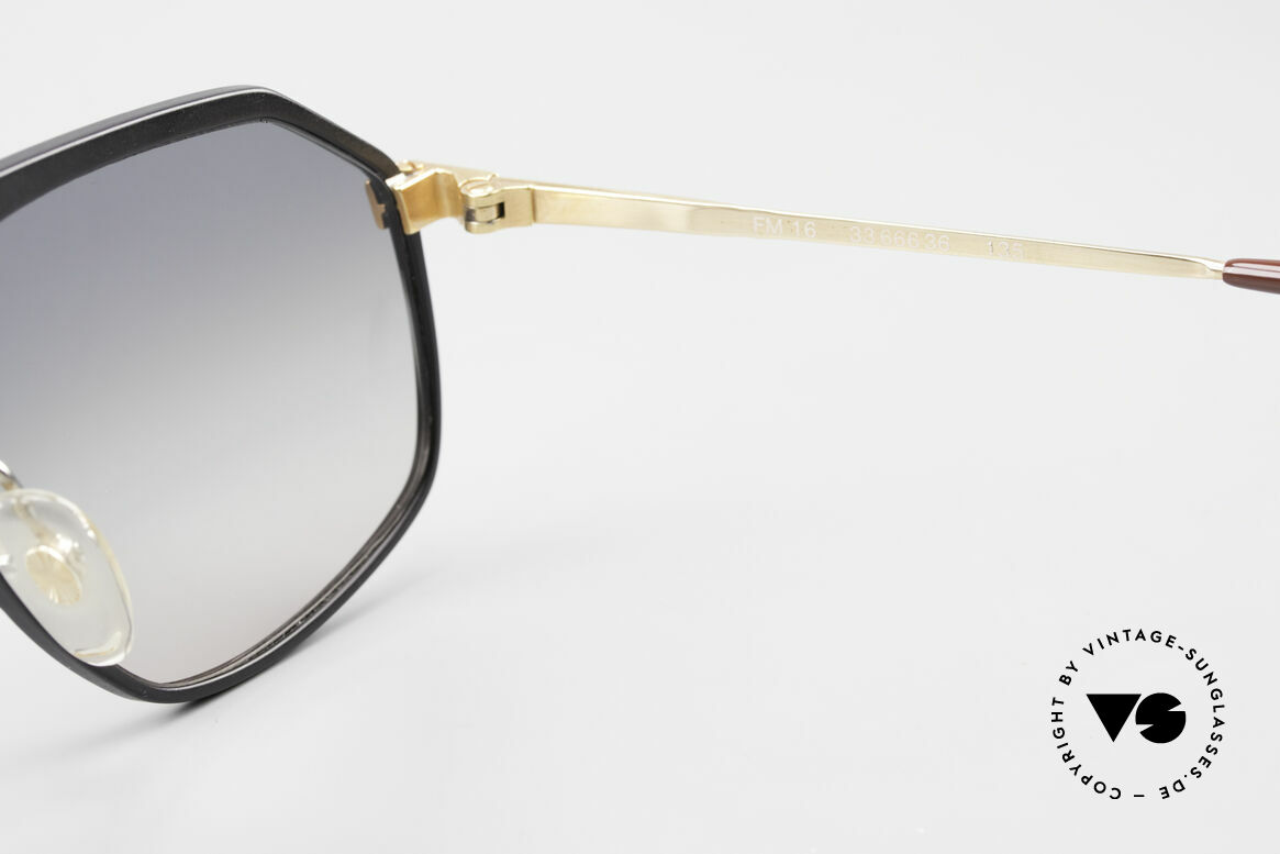 Alpina M6 True Vintage Sonnenbrille 80er, Größe: medium, Passend für Herren und Damen