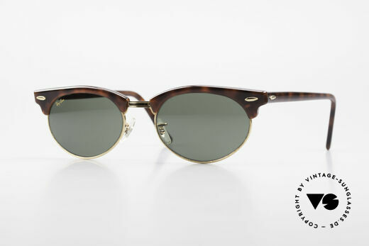 Ray Ban Clubmaster Oval 80er Bausch & Lomb Original Details