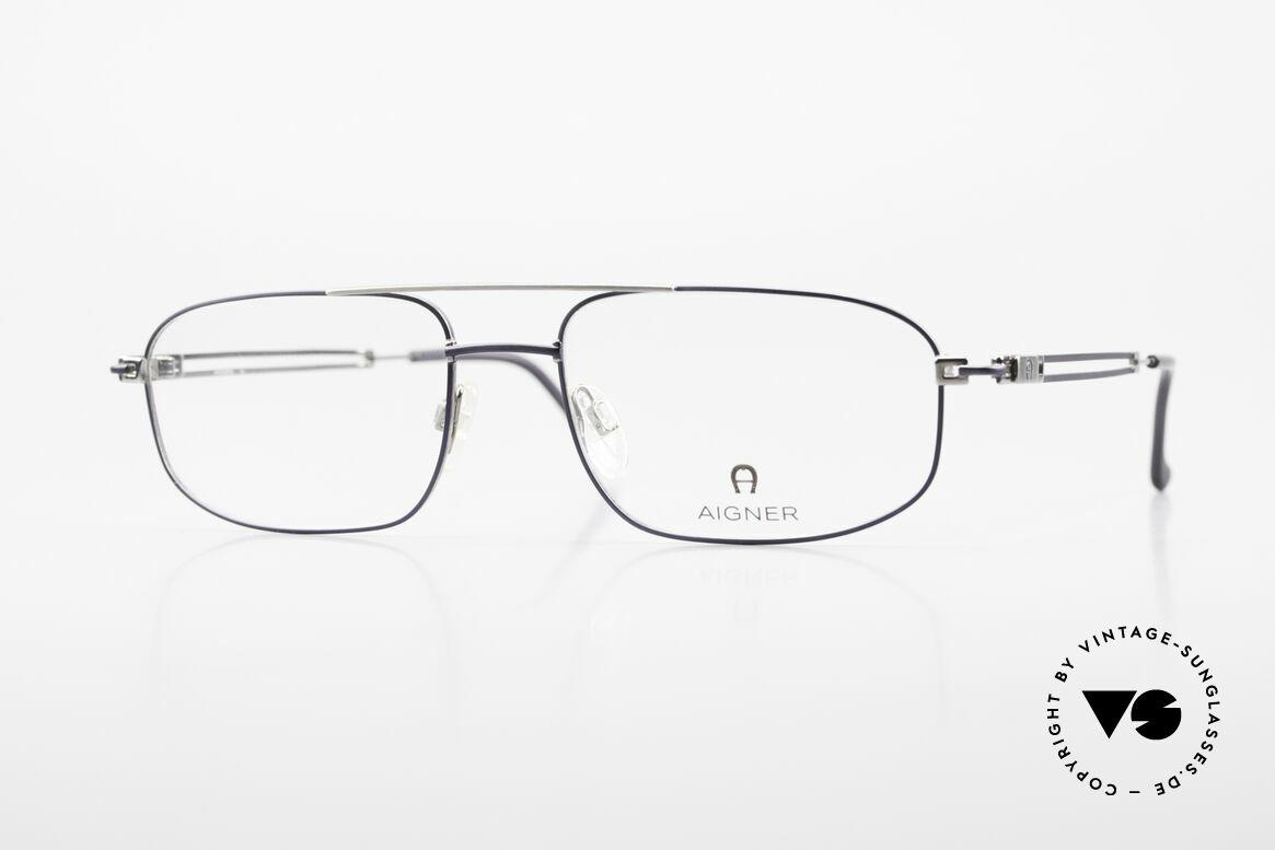 Aigner EA9111 90er Herrenfassung Metall, Metall-Herrenbrille von Aigner, 9111 in Gr. 56/18, 140, Passend für Herren