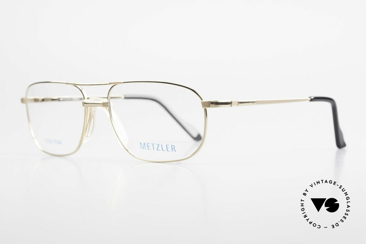 Metzler 1714 Klassische Herrenbrille Titan, klassische Herrenbrille, made in Germany Qualität, Passend für Herren