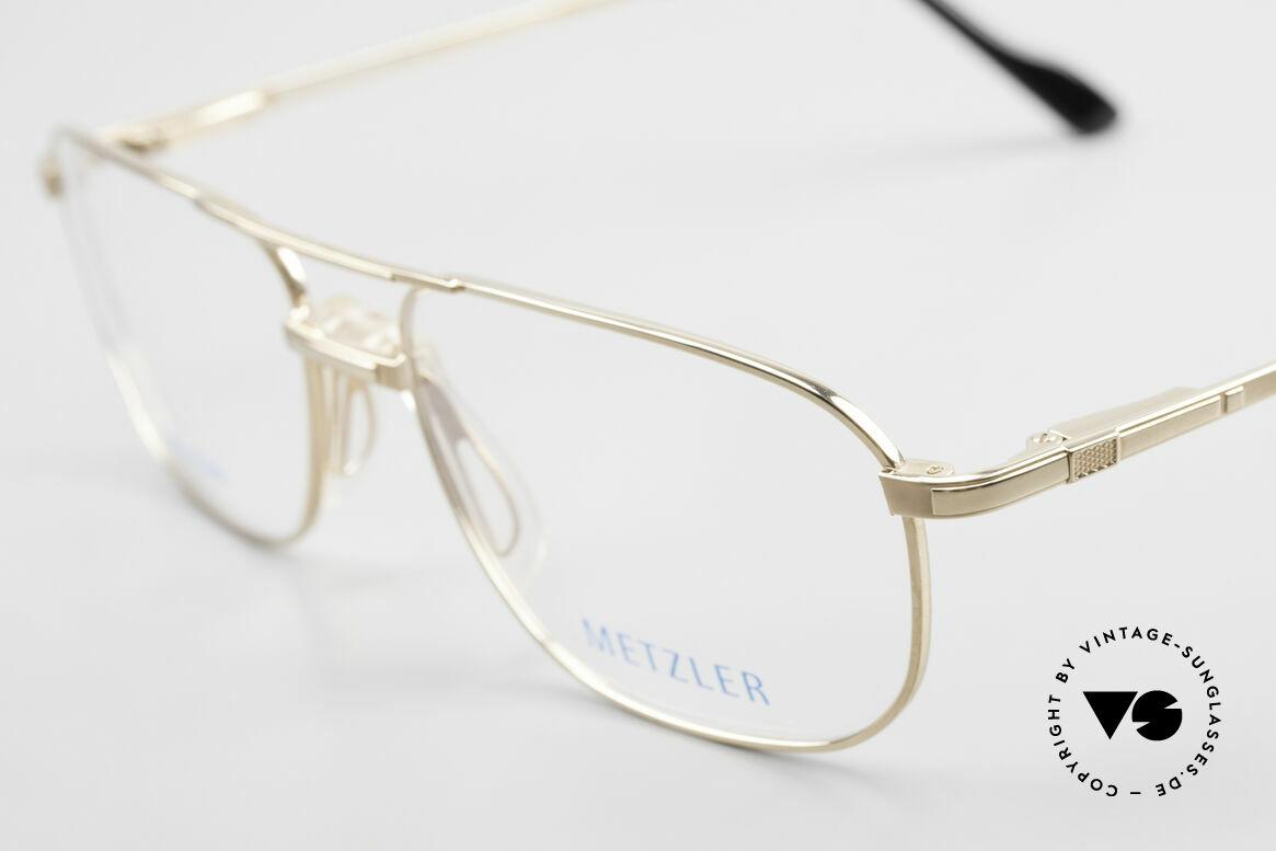 Metzler 1714 Klassische Herrenbrille Titan, ungetragen (wie alle unsere 90er vintage Brillen), Passend für Herren