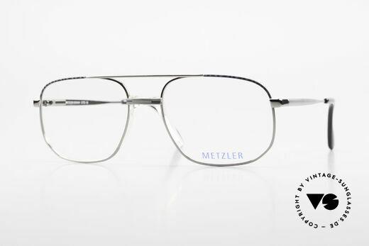 Metzler 7538 90er Metallbrille Mit Sattelsteg Details